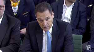 Former Thomas Cook Chief Executive 'Deeply Sorry' About Failure [Video]