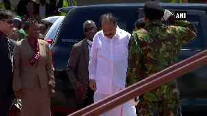 VP Naidu departs for Delhi from Sierra Leone's Freetown [Video]