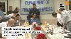 2 pronged approach to get MSMEs' dues cleared before Diwali FM Nirmala [Video]