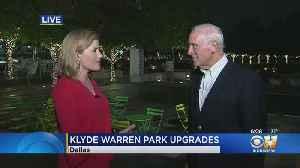 News video: Expansion Plans Unveiled For Dallas' Klyde Warren Park