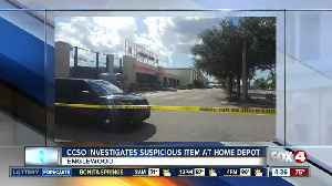 Suspicious item at Englewood Home Depot deemed not an explosive [Video]
