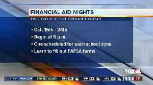 Lee County Schools Financial Aid Nights [Video]