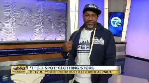 The Detroit Youth Choir outfitted with 'The D Spot' apparel [Video]