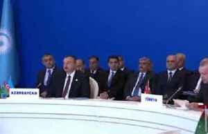 Erdogan says goal in Syria is to 'eliminate terrorist groups', return refugees [Video]
