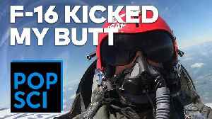 Flying in an Air Force F-16 | I PUKED 3 TIMES [Video]