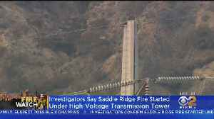 Saddle Ridge Fire Ignited Near High-Voltage Transmission Tower, But Exact Cause Still Not Known [Video]