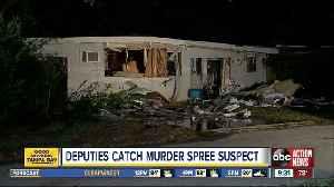 Double homicide suspect caught by deputies [Video]
