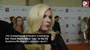 Avril Lavigne returning to the UK for first shows since 2011 [Video]