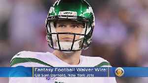 News video: Fantasy Football Waiver Wire Week 7