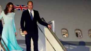 News video: Prince William and Kate Middleton Make Royal Tour History With Their Entourage in Pakistan