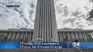 Florida GOP Lawmakers Focus On Climate Change [Video]
