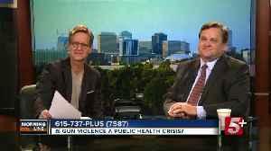 MorningLine: Is Gun Violence a Public Health Crisis? P.1 [Video]