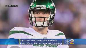 Darnold Gives Jets, Struggling Offense 'New Life' In Return [Video]
