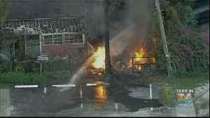 Stubborn Fire In NW Miami-Dade [Video]