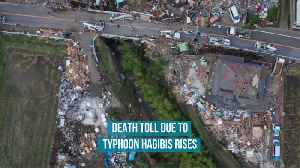 Death toll due to Typhoon Hagibis rises [Video]