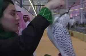 Saudi women show up as highfliers at Riyadh falcon's exhibition [Video]