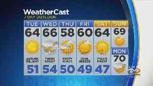 New York Weather: 10/15 CBS2 Afternoon Weather Headlines [Video]