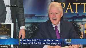 Pilot For Showtime Show, Based On Bill Clinton's 'The President Is Missing' Will Be Filmed In Maryland [Video]
