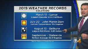 Four Extraordinary Statewide Weather Records So Far This Year [Video]