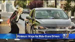 LA City Council Takes Another Step Toward $30 Minimum Wage For Rideshare Drivers [Video]