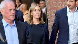 Felicity Huffman Reports to Federal Correctional Institution in Dublin to Serve Sentence | THR News [Video]