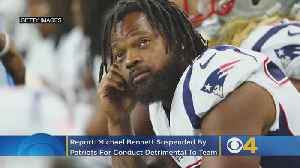 Michael Bennett Reportedly Suspended After 'Philosophical Disagreement' With Patriots Coaching Staff [Video]