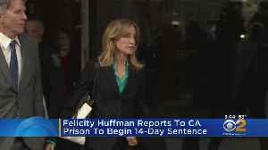 Felicity Huffman Reports To Prison [Video]