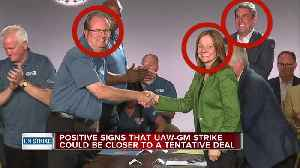 News video: Close to a deal? GM UAW strike now in day 30