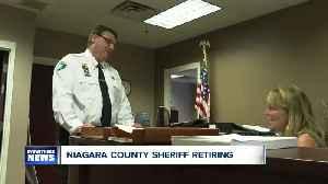 Niagara County Sheriff to retire [Video]