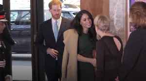 Meghan and Harry attend the WellChild awards [Video]