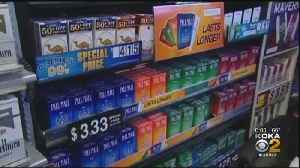Raising The Age Requirement For Tobacco Purchasing In Pa. [Video]