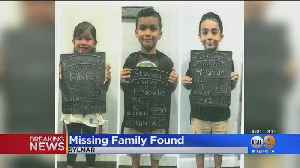 Mom, Kids Missing From Sylmar Found At US-Mexico Border; Father Believed To Be In Mexico [Video]