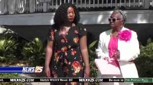 Warming Up for Fundraiser: Strides Against Breast Cancer [Video]