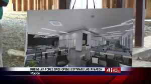 Robins Air Force Base opens software lab in Macon, offers loan repayment for students [Video]