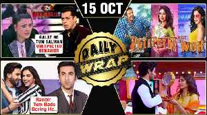 Deepika Compares Ranveer-Ranbir, Salman INSULTED By Koena Mitra, Salman Disha ROMANCE | Top 10 News [Video]