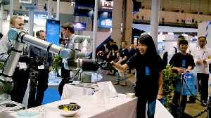 Latest cutting-edge technology showcased at Japan trade show [Video]