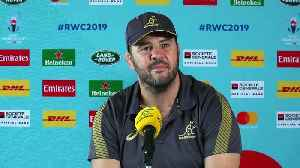Cheika and White on facing England in Quarter-final at Rugby World Cup 2019 [Video]