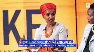 Reps. AOC and Ilhan Omar Will Endorse Bernie Sanders for President [Video]