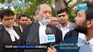 Senior Advocate Zafaryab Jilani on arguments by Muslim side [Video]
