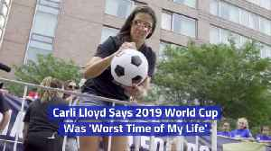 Carli Lloyd Opens Up About The 2019 World Cup [Video]