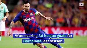 Lionel Messi Wins Record Sixth Golden Shoe [Video]