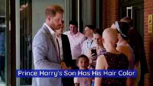 Prince Harry's Son Has His Hair Color [Video]
