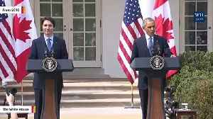 Obama Urges Canadians To Support Trudeau: 'World Needs His Progressive Leadership' [Video]