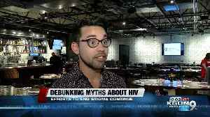 Community gets together to help end stigma surrounding HIV [Video]