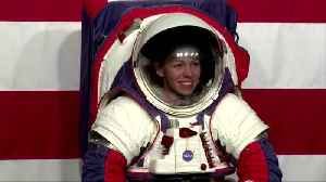 NASA unveils new spacesuits for moon mission [Video]