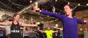 Rage yoga incorporates cursing and alcohol [Video]