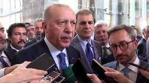 Erdogan: Syria offensive will end if Kurds withdraw [Video]