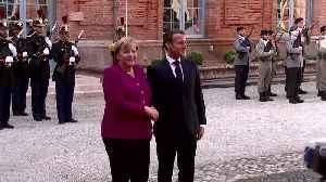 Merkel meets Macron ahead of EU summit [Video]
