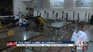 Organizers stress importance of vaccinations at pop-up flu shot clinic in KCMO [Video]