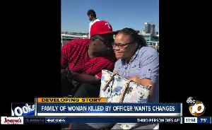 Family of woman shot, killed by officer in her home pushes for changes [Video]